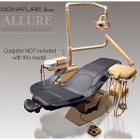 Allure Complete Dental Package - Patient Chair (narrow or wide back), HP