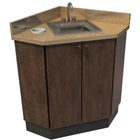"Signature I Cabinet Corner Unit 27"" x 27"". Standard features: 15"" x 15"" Square"