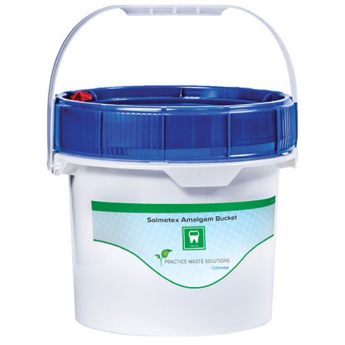 Solmetex Amalgam Bucket, 3.5 Gallon. Meets all re