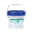 "Solmetex Amalgam Bucket, 1.25 Gallon. Meets all requirements of BMP's and ""EPA"