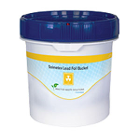 Solmetex Lead Bucket - 1.25 Gallon. Lead waste and lead foil are collected
