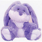 Lavender Bunny Lavender Bunny, covered in soft plush, can be heated in microwave