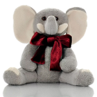 Sootheze Toasty Elephant. Microwaveable 13 inch tall snuggly elephant