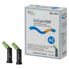 EsCom100 A2 capsules 20/box. Light-Cured Restorative Nano Hybrid Composite
