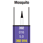 Spring FG #392.016 Medium grit Mosquito single-use diamond bur, Pack of 10 burs