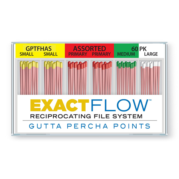 ExactFlow Assorted Gutta Percha Points S/M/L/P, C