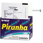 Piranha Diamonds FG #909.042 Coarse Grit, Wheel Shaped, Single Use Diamond Bur