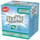 StaiNo Interdental Brush Refill - 36x2/Pk. Jumbos Tapered. 36 Packs/Box, 2