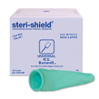 Steri-Shield Universal R.S. Barrier Latex Free - Green, for use with all makes