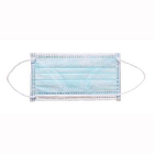 House Brand Blue Procedure Masks Bulk Pack, 900/Bx, ASTM Level 2, 3 Ply, BFE