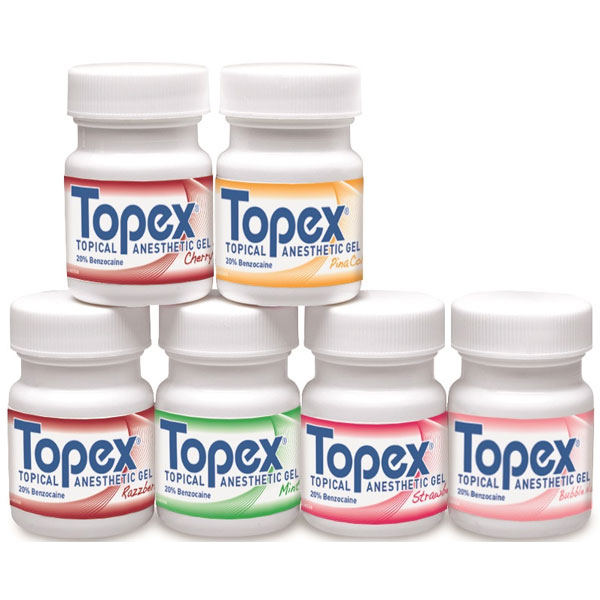 Topex Cherry Topical Anesthetic Gel (Benzocaine 2