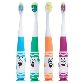 Znalezione obrazy dla zapytania GUM Crayola Toothbrushes Pip-Squeaks Ultrasoft 2