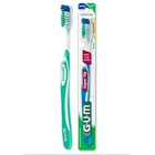 GUM Super Tip Toothbrush - Compact Soft Adult Toothbrush. 27 Tufts, Dome Trim