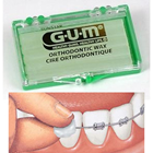 GUM Orthodontic Wax - Unflavored, with Vitamin E 24/Bx. Adheres to orthodontic appliances to help