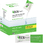 TCS Concentrated Denture Cleaner - Mint flavor. Box of 24 - 1.75 gm packets, 6