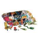 JR Rand Treasure Chest Toys REFILL 200/Bag. Refill Toy Assortment for Treasure