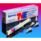 Temrex TNE non-eugenol temporary cement, dual syringe kit. Kit contains: 1 - 6