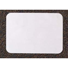 "Tidi 5"" x 8"" Mini-Tray ""F""- White Heavyweight Paper Tray Cover, Box of 1000"