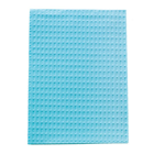 "Tidi Choice - Blue Waffle-Embossed Patient Bib (13"" x 18"") 500/Box. 2-Ply"