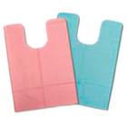 "Tidi Blue Oral Surgery Bibs 18"" x 25"", 3 Ply Paper/1 Ply Poly. Case of 250"