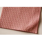 "Tidi Choice - Mauve (13"" x 18"") 3 Ply Waffle Embossed Paper Patient Bib, Case"