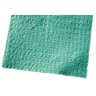 "Tidi Patient Bibs TEAL 13"" x 18"" 3-Ply Paper/1-Ply Poly 500/Cs. Plain Rectangle"
