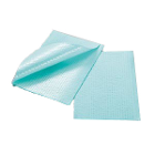 "Tidi Towel Green 13"" x 18"" 3-Ply Paper 500/Cs. Latex Free"