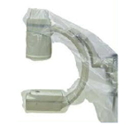 "TidiShield X-ray tube and C-Arm Cover.48"" x 84"" - 25/Pk. Clear plastic"