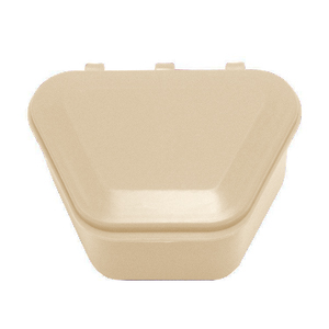 "Tiger's Plastics 1-3/4"" Denture Box - French Vani"