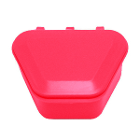 "Tiger's Plastics 1-3/4"" Denture Box - Pink, 300/Box. Denture Storage Cases"