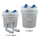 Tiger's Plastics Disposable Plaster Trap Kit, 5 Gallon Kit. Includes disposable