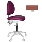 Mirage Doctor's Stool - Autumn Color. Dimensions: Backrest Vertical Adjustment