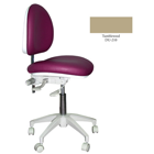 Mirage Doctor's Stool - Tumbleweed Color. Dimensions: Backrest Vertical
