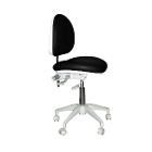 Mirage Doctor's Stool - Black Color. Dimensions: Backrest Vertical Adjustment