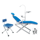 TPC Portable Dental Chair Package. Includes: Patient Chair, Operatory Light