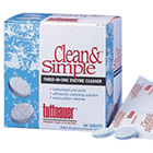 Clean & Simple Clean and Simple Ultrasonic/Enzymatic solution in Tablet form