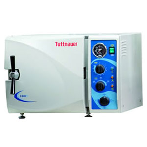 Tuttnauer 2540M Manual Autoclave, 120V. Chamber 1