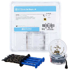 LC Block-Out Resin 4-Pk. Kit: 4 x 1.2 ml Syringes & 20 Black Mini Tips. Low