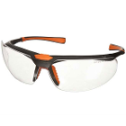 UltraTect Protective Eyewear - Black frame and Clear lens, 1/Pk. High-quality