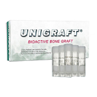 Unigraft Bioactive Bone Graft 200-600 Micron, 0.5 gm vial - 5/pk. Resorbable