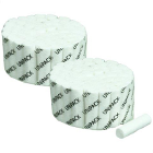 "UniPack Plain Wrapped Cotton Rolls 1-1/2"" x 3/8"", #2 medium"