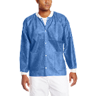 Extra-Safe Jacket - Ceil Blue Small 10/Pk. Hip-Length, Light-Weight