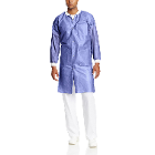 Extra-Safe Lab Coats - Blueberry X-Large 10/Pk. Knee-Length, Light-Weight