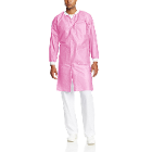 Extra-Safe Lab Coats - Light Pink Small 10/Pk. Knee-Length, Light-Weight