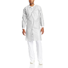 Extra-Safe Lab Coats - White X-Large 10/Pk. Knee-Length, Light-Weight