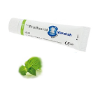 Profluorid 5% Sodium Fluoride Varnish - Mint, 10 ml tube. White transparent