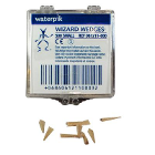 Wizard Wedges Wizard Small Triangular Birchwood Matrix Wedges, Package of 500