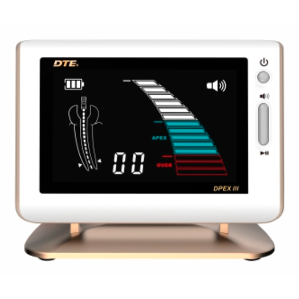 DTE Apex Locator with Gold Trim & Stand. Equipped