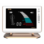 DTE Apex Locator with Gold Trim & Stand. Equipped with clear, multicolor LCD