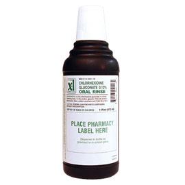 Xttrium Labs 012 CHG Oral Rinse 16 Oz Mint Fla
